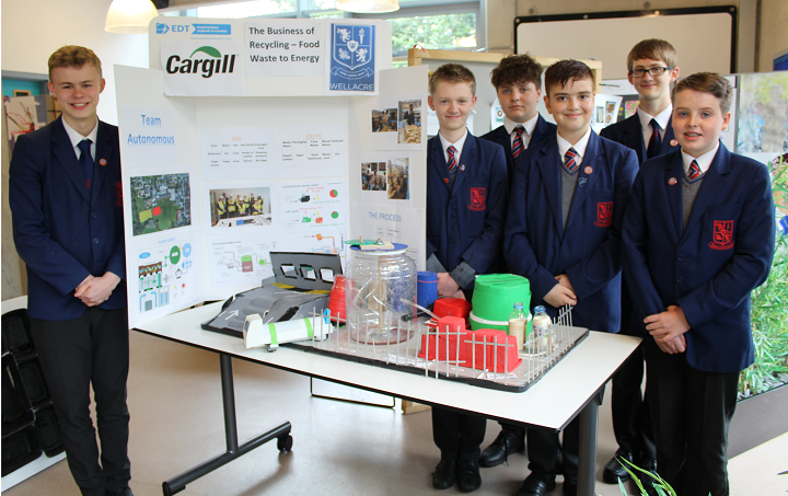 Wellacre students with their winning Go4Set STEM Scheme model crop.png