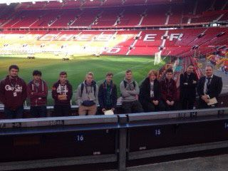 Business Students receive marketing top tips from MUFC