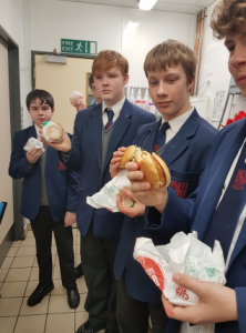Year 10 are 'Lovin' it' at McDonald's