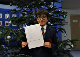 Wellacre Student Wins Poetry Competition