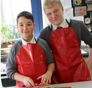 Students sharpen up their butchery skills