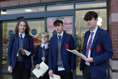 GCSE Students Investigate Business Operations