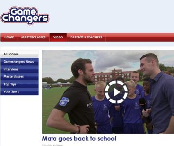 EXCLUSIVE VIDEO OF MATA VISIT